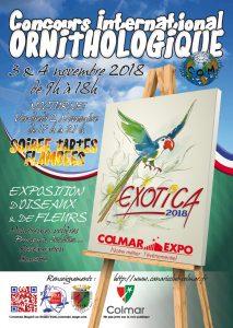 Affiche Exotica 2018