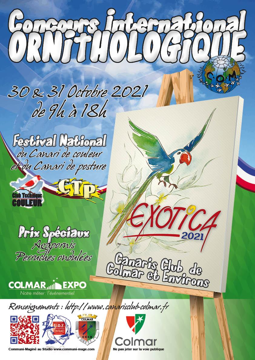 Exotica 2021 – Canaris Club de Colmar et Environs