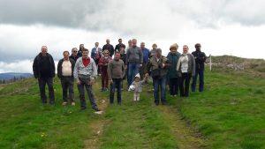 Photo de groupe sur le toit de l'Alsace.